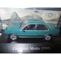 Carros Nacionais Inesquecíveis Chevrolet Monza 1988 Verde
