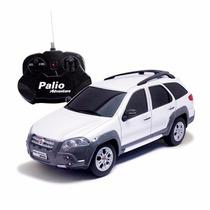 Carro Controle Remoto Fiat Palio Adventure 1:18 Cks Toys