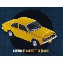 Miniatura Chevrolet Chevette Sl 1979 1/43 - Carro Antigo