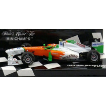 1:43 Minichamps Force India Mercedes Vjm04 Di Resta 2011