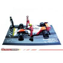Carro + Diorama Grid Mclaren Mp4/4 - Senna 1/43 Lendas F1 #2
