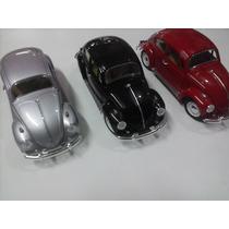 Carro Miniatura Escala 1:18 Coleção Fusca (fusquinha)