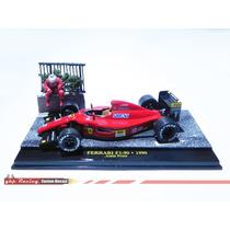 Diorama Gp Ferrari - Prost 1990 Monaco Gp Collection