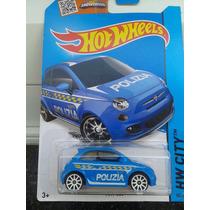 Hotwheels Fiat 500 - 050/250 - Coleção 2015