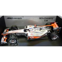 Minichamps 1/18 Mclaren Mp4/25 Button F1 2010 # Senna Jenson