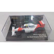 Mclaren Mp 4/4 Ayrton Senna F1 Suzuka 1988 1/43 Minichamps
