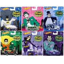 Hot Wheels Pop Culture - Série Dc Batman: 6 Miniaturas