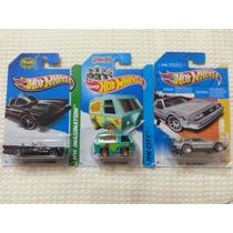 Lote Hot Wheels Back To The Future Delorean Scooby Batman