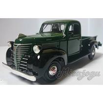 Pick-up Plimouth 1941 1/24 Motor Max Antiga Metal Nova