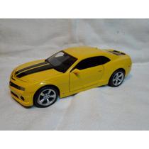 Maisto 1/24 Chevrolet Camaro Ss Amarelo 2010 Novo