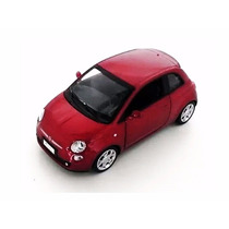 Fiat 500 C/ Luz E Som California Action 1:32 California Toys