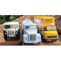 As Três Juntas ! Kibon + Scania + Fnm ( Edições 1 E 2 E 3)