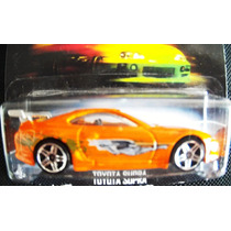 Hw Toyota Supra Velozes & Furiosos Lacrado 2013 Não Th Super