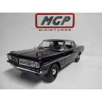 Higway - 1:18 Pontiac Az Noturno Ano 1963