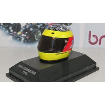 1/8 Capacete Ralf Schumacher 1996 Minichamps Formula 1