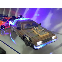Delorean De Volta Para O Futuro 3 Diamond Select Toys 1/15
