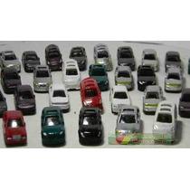 Lote 10 Miniaturas Automóveis Ho 1:87 ~1:100 Figuras Maquete