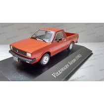 Vw Miniatura Saveiro 1982 Com Fascículo Nacional 1:43 Vw