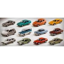 Coleção 12 Carros E 12 Fascículos Brasileiros Nacionais