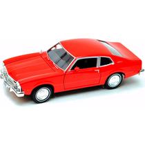 Carro Miniatura Ford Maverick 1974 - Escala 1:24 - Motor Max