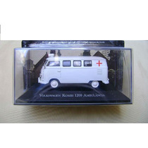 Kombi Ambulância Raríssima 1:43 Miniaturas Inesqueciveis