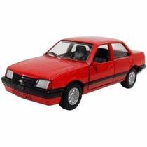 Miniatura Carro Classicos Nacionais Metal 1984 Monza 11cm