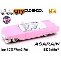 Cadillac 1962 Rosa - Jada - 1/64