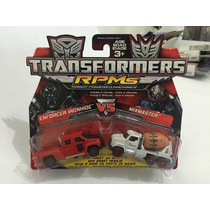 Transformers Rpms Enforcer Ironhide Vs Mixmaster 1/64 D