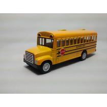 Miniatura Ônibus Escolar School Bus