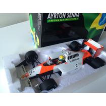 Minichamps 1/18 Mclaren Mp4/4 Honda F1 Senna 1988 Novo