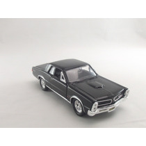 Miniatura Pontiac Gto 1965 Preto