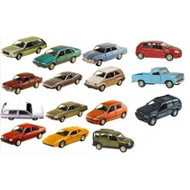Coleção 15 Miniaturas Carros Clássicos Nacionais Oferta