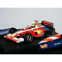 1:43 Hotwheels Williams Supertec Fw21 Ralf Schumacher
