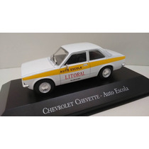 Chevrolet Chevette Auto Escola Miniatura Veiculos De Serviço