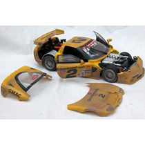 Corvette Racing - C5-r - 2001 #2 Afther Racing 1/18 -action