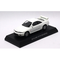 Miniatura Nissan Skyline Gt-r - Branco - 1/64 Kyosho