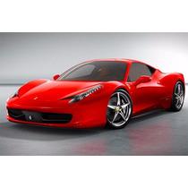 Miniatura Ferrari 458 Itália 1/24 - Coleção Super Carros Ine