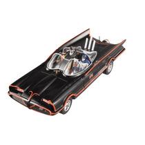 Batmóvel 1966 Batman And Robin Hot Wheels Elite 1:18