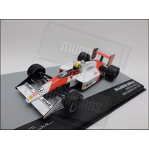 F1 - Mclaren Mp4/4 1988 Ayrton Senna - 1:43 - Ixo + Revista