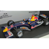 1/18 Minichamps Red Bull Racing Showcar 2005 Coulthard