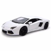 Lamborghini Aventador Lp700-4 1:24 Maisto 31210-branco