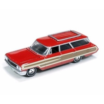 Miniatura Ford Country Squire Muscle Wagons 1:64 Auto World
