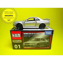 Nissan Skyline Nismo R34 Gt-r Z Tune Tomica Premium 1/64