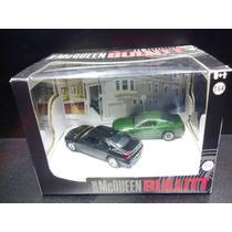 Mustang E Dodge Bullit Steve Mcqueen Pack Diorama Greenlight