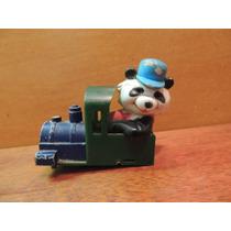 Carrinho Coleção Antigo Locomotiva Com Ursinho