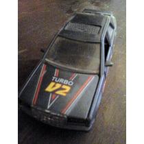 Carrinho/miniatura De Fricção Anos 80/90 Turbo V2 (metal)
