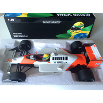 Minichamps 1/18 Mclaren Mp4/4 Honda F1 Senna 1988 Ayrton