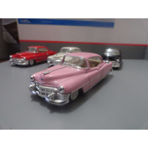 Miniaturacadillac Series 62 Coupe 1953 1:3 Rosa Kinsmart