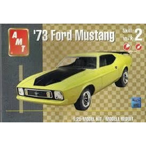 Mustang 1973 Ford Kit Montar Miniatura Maverick Amt 1:25