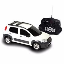 Fiat Uno Way Branco (controle Remoto) - Cks
